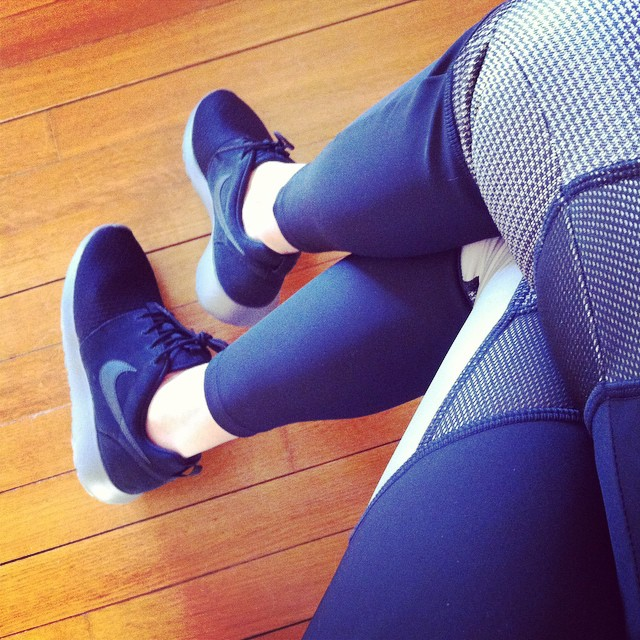 #alexanderwang x #hm leggings and #sneakers sold like hot cakes!! Details  @liketoknow.it www.liketk.it/EGgO #liketkit