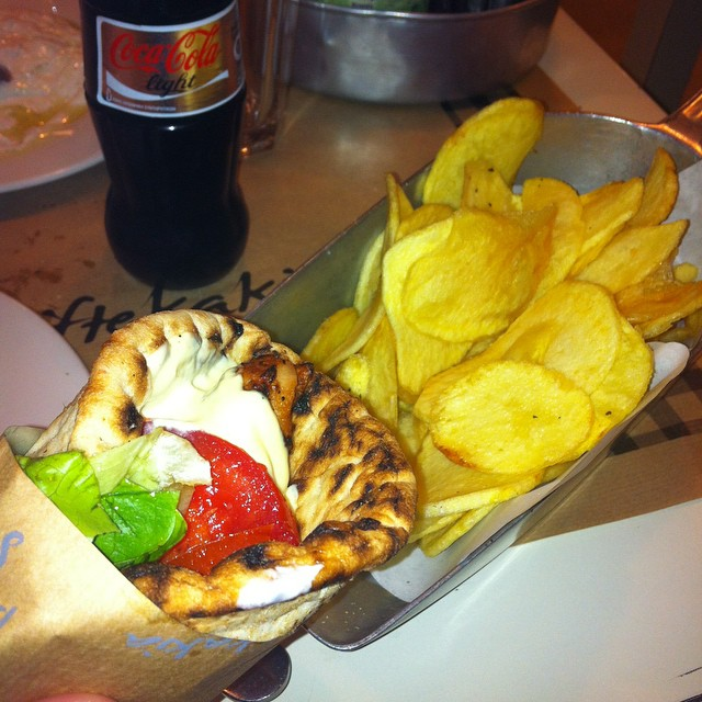 Super yummy #souvlaki