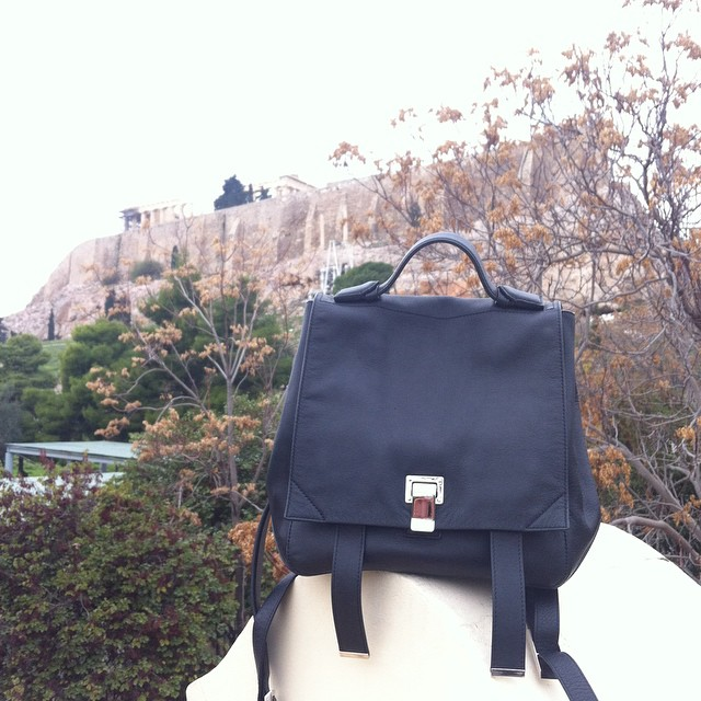 @proenzaschouler and #acropolis