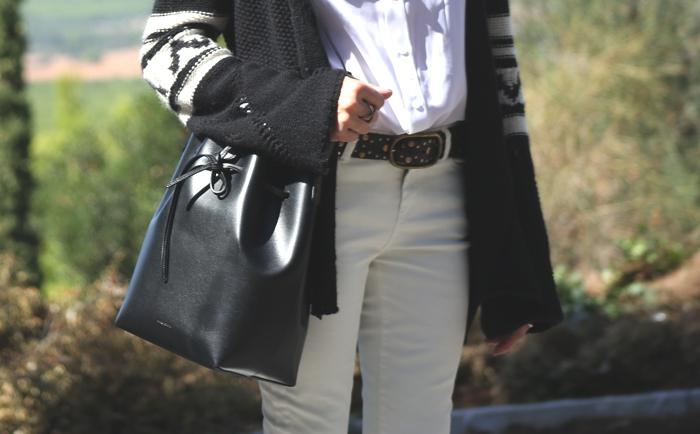white winter pants