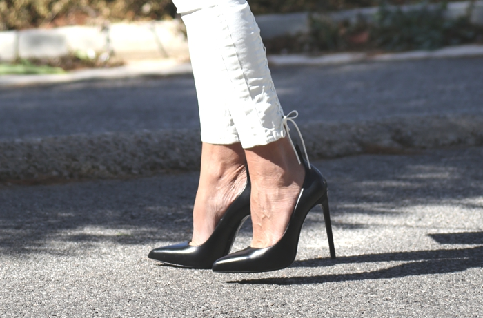 Saint Laurent black pumps