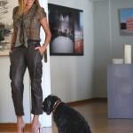 Boyfriend Leather Pants Blogger Style