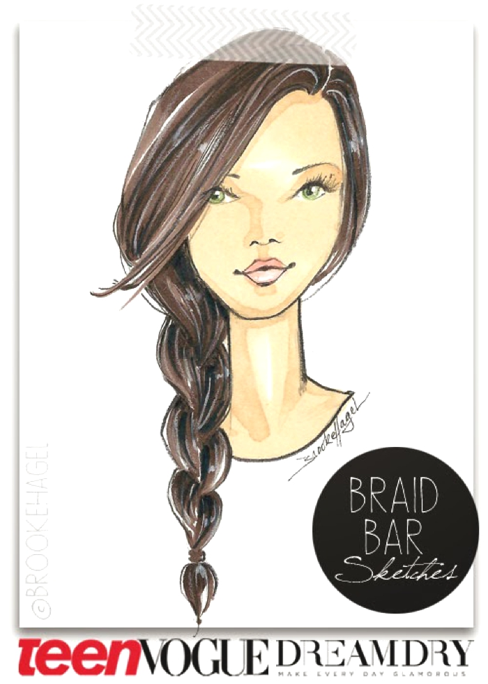 Brooke-Hagel-Fashion-Illustrator-Braid-Sketch-Hair-DreamDry-Teen-Vogue
