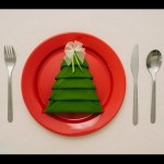 Decor Ideas | Christmas Napkin Folding Tree