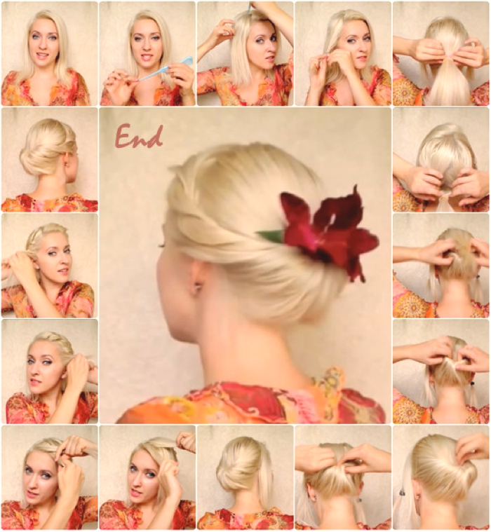 am searching for stylish easy party hairstyles tutorials you can do ...