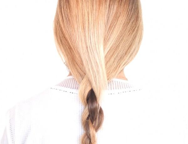 Ponytail Hairstyle Ideas | 3D Chain Braid Tutorial