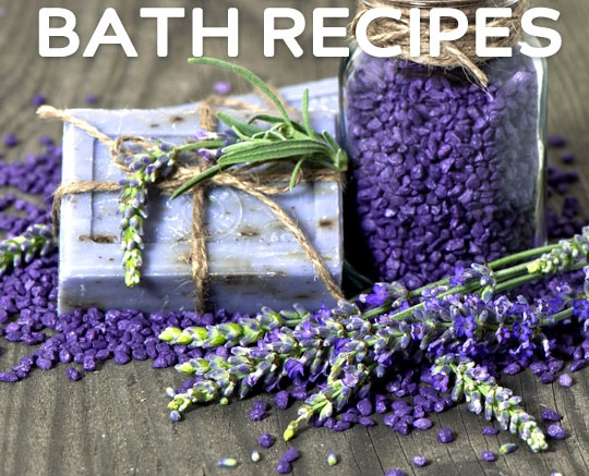 Rejuvenating DIY Bath Recipes | All from your kitchen