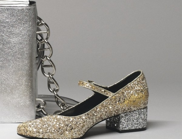 Saint Laurent Glittering shoes