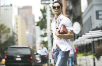 Best High Waisted Jeans Street Style