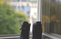 Stockholm Street Style Prada Combat Boots meet Isabel Marant Tweed Jacket
