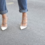 Top Street Style| Jeans with Valentino Rockstuds