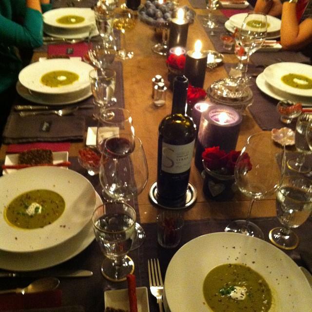 #dinner table