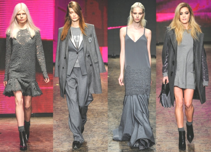 DKNY Fall Winter 2015 Grey