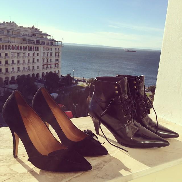 All you need for a weekend in #thessaloniki Shoes details ? @liketoknow.it www.liketk.it/LFRM #liketkit