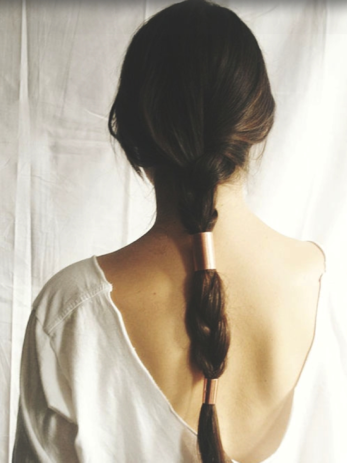 Long hair Hairstyle, hair cuffs