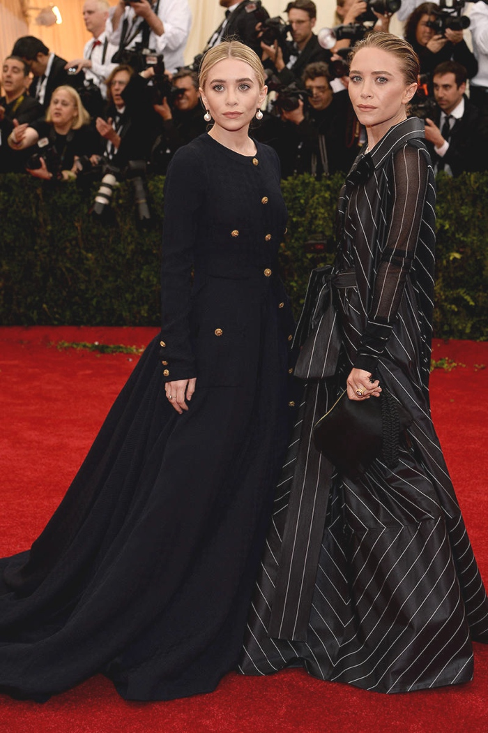 Ashley and Mary-Kate Olsen best 2014 gowns