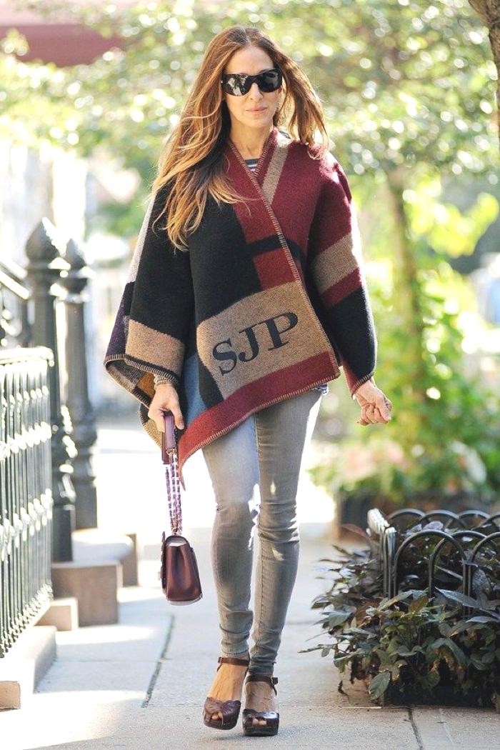 Blanket Coats Burbery Sarah Jessica Parker
