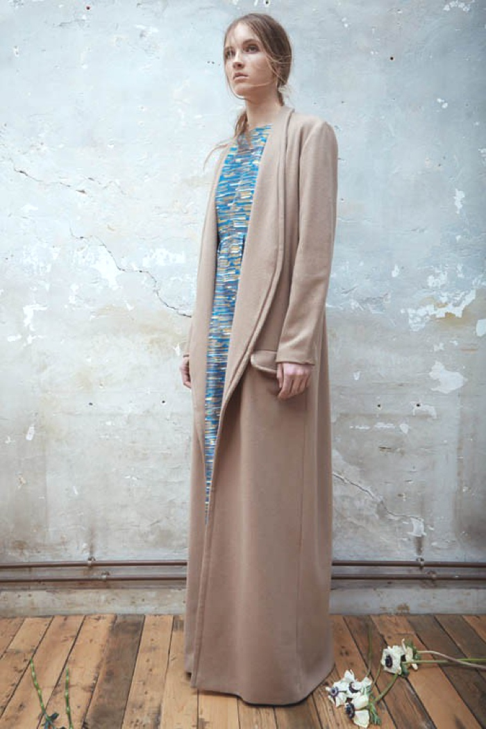Events Athens Christina Economou Pop Up store Attica Maxi camel coat