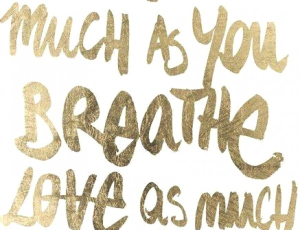Happy New Year Laugh as Much a You Breathe