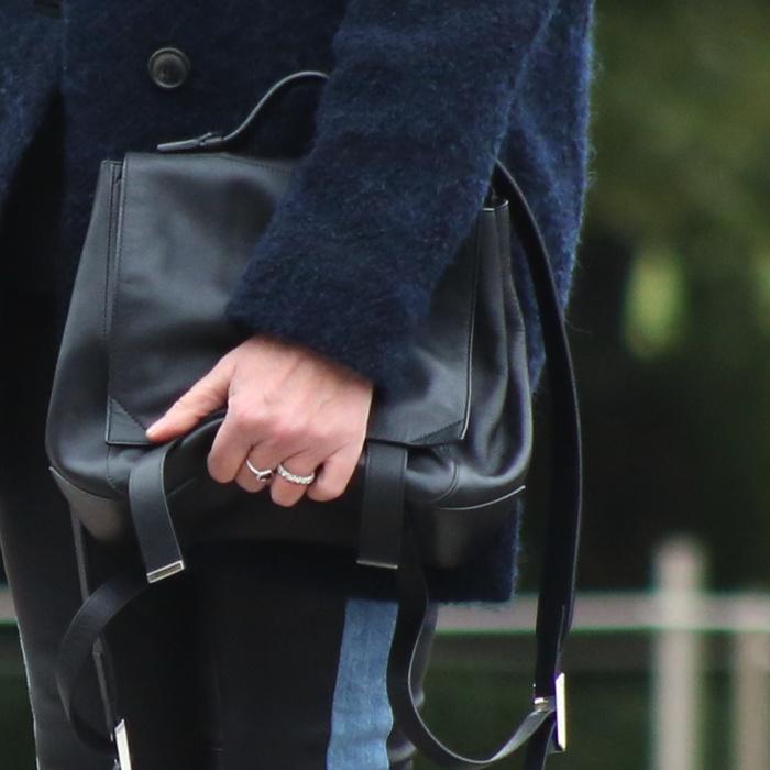 Isabel Marant jacket, back pack Proenza Schouler