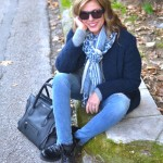 Weekend Street Style | All Shades of Blue Jeans