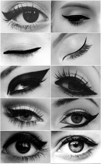 flick eyeliner 10 styles