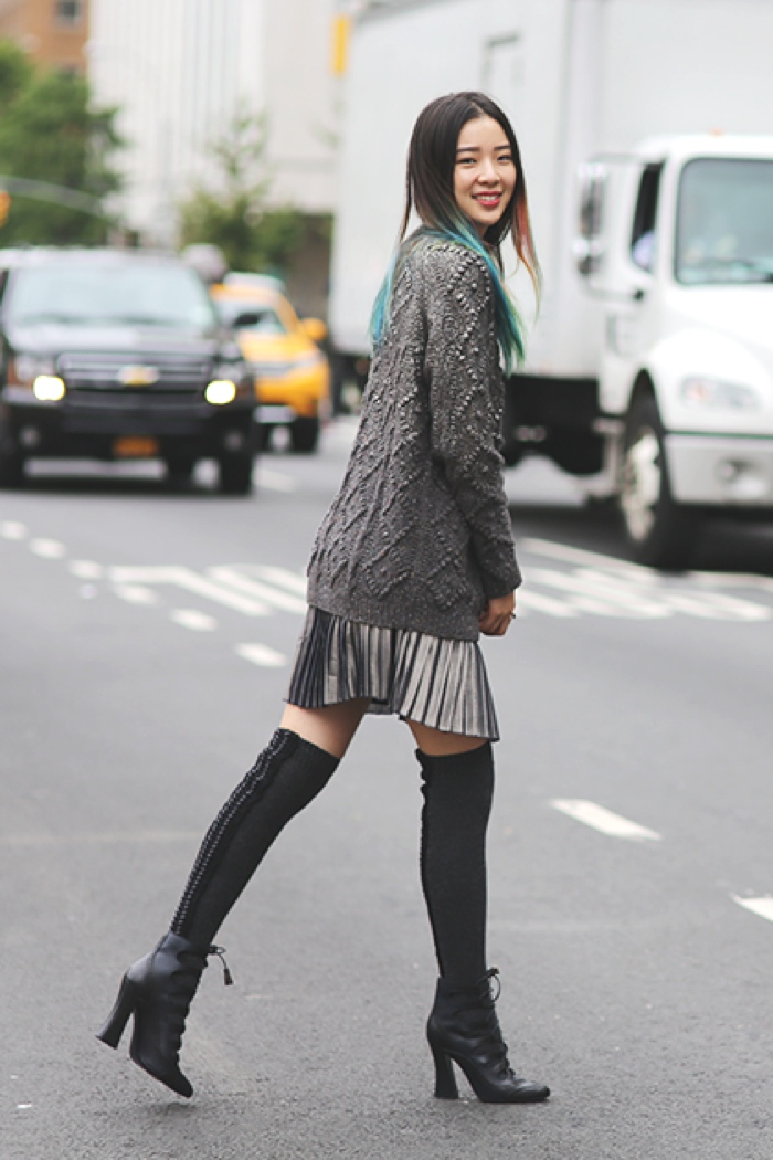 Inspiring Street Style | 6 Hot Ways to Wear Cozy, Chic, Chunky ...