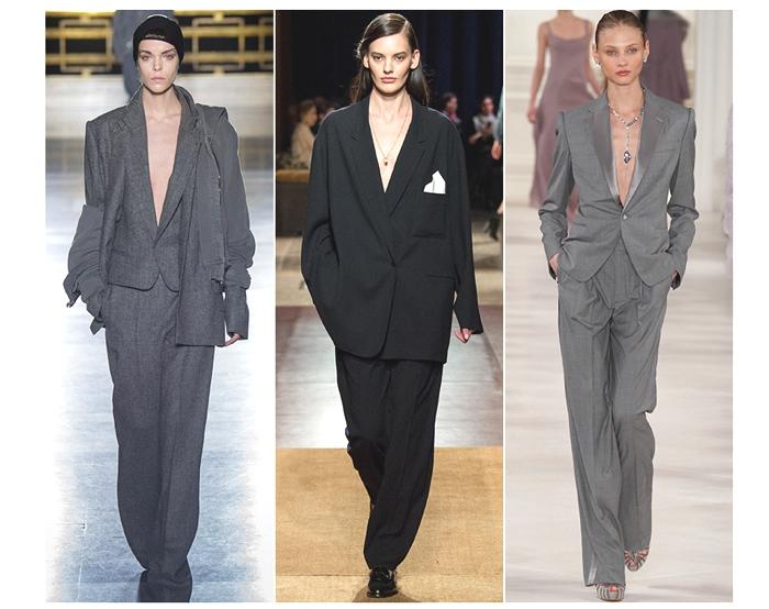 women pant suit trend