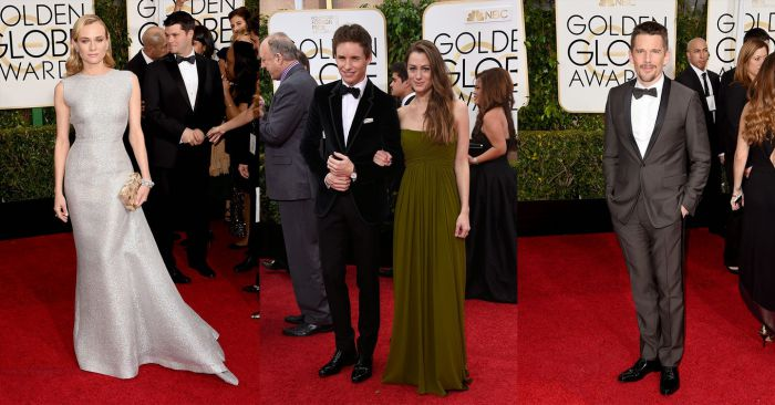 Diane Kruger, Eddie Redmayne and Hannah Bagshawe, Ethan Hawke