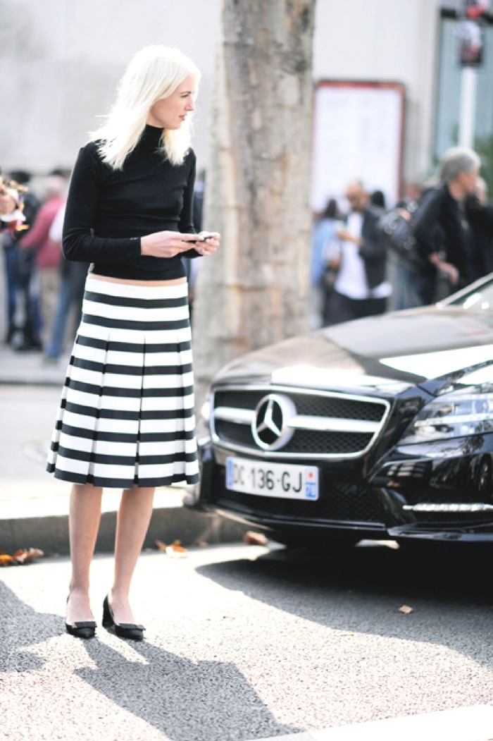 Street Style Black and White Refresh