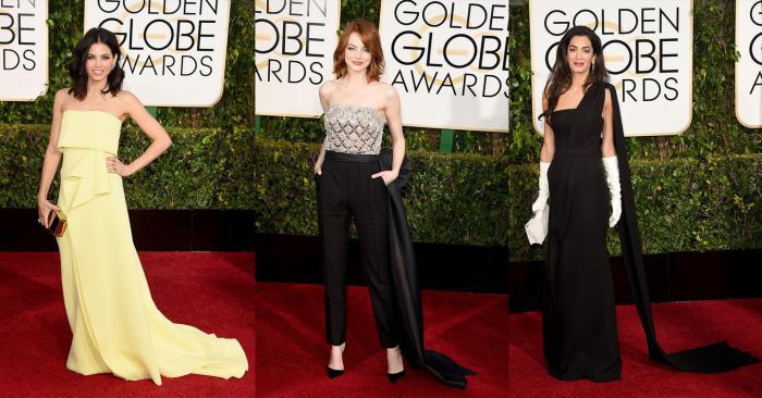 Jenna Dewan-Tatum, Emma Stone, Amal Clooney