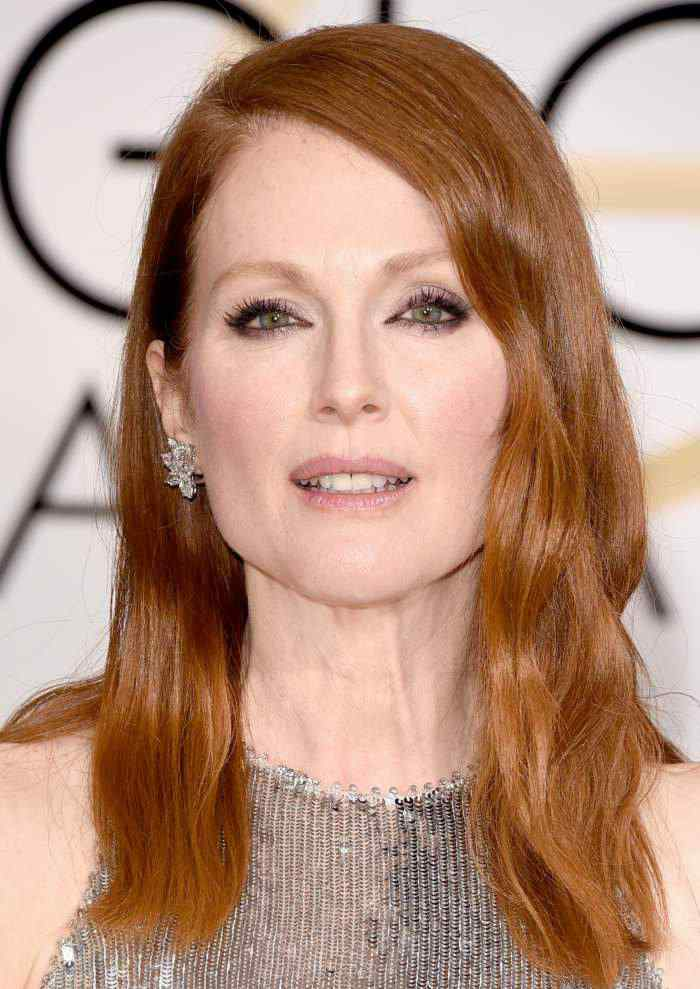 Julianne Moore wears Chopard to the 72nd Golden Globes Awards