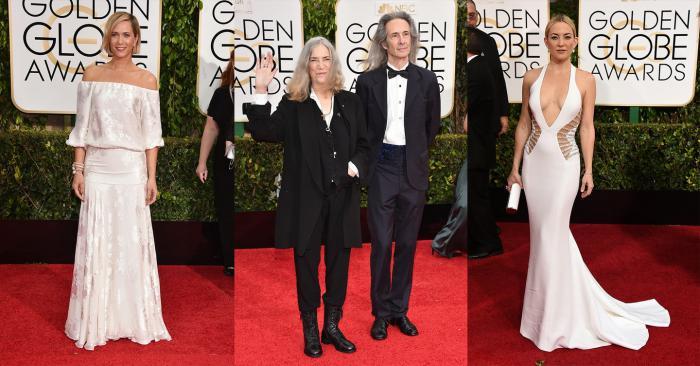 Kristen Wiig, Patti Smith and Lenny Kaye, Kate Hudson