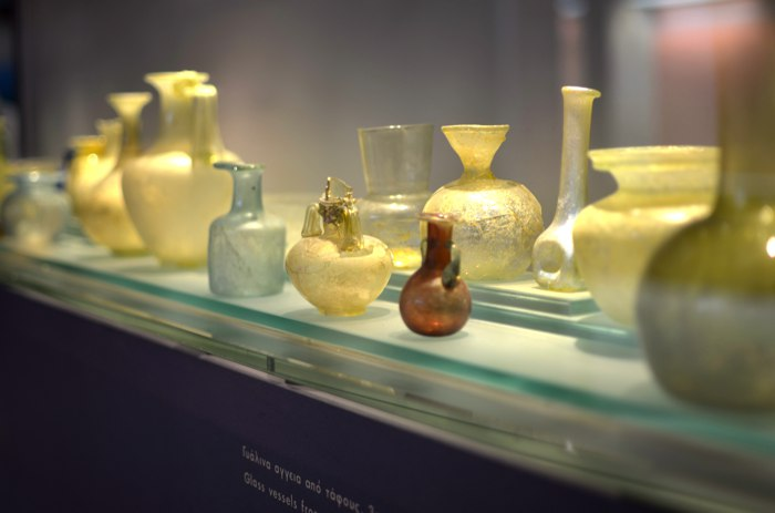 Museum of Byzantine Culture vases