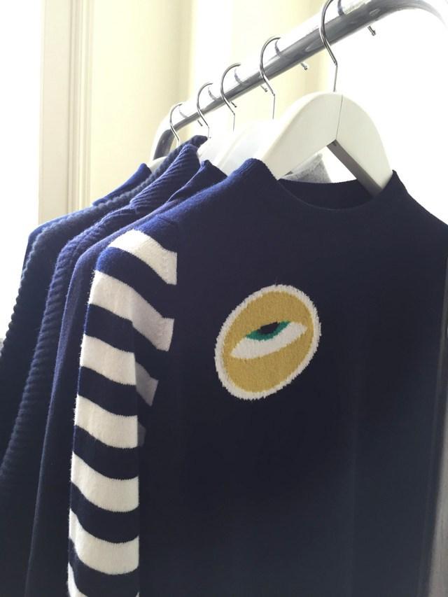 Esk Cashmere Eye sweater
