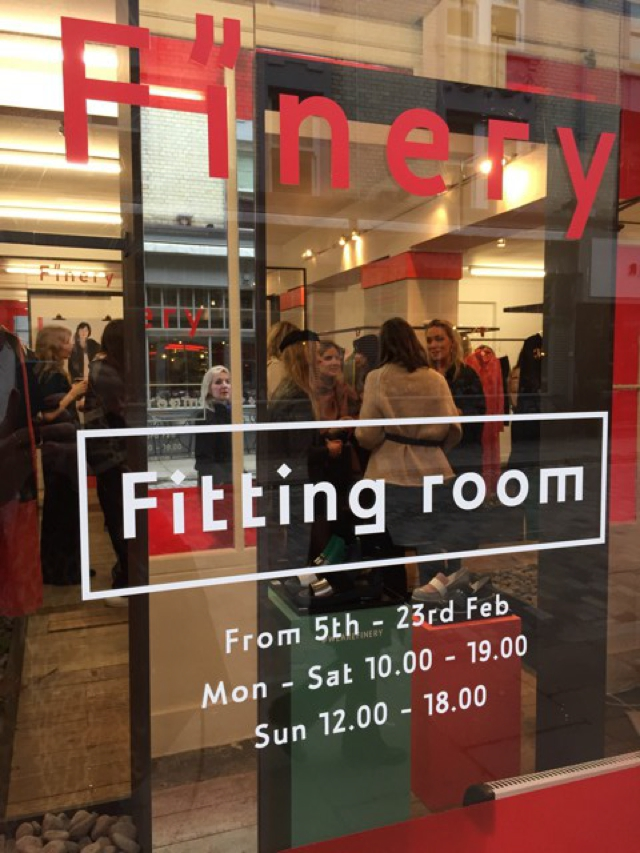 Finery Fitting room