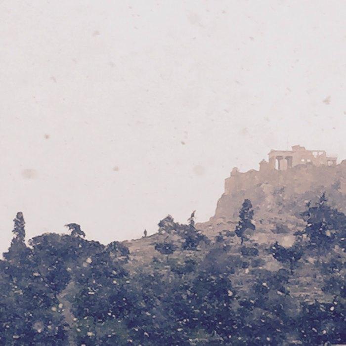 Acropolis Snowing