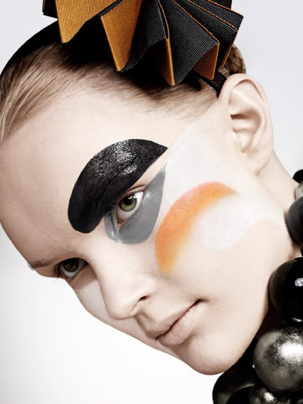 Arlequin makeup Stylish Halloween