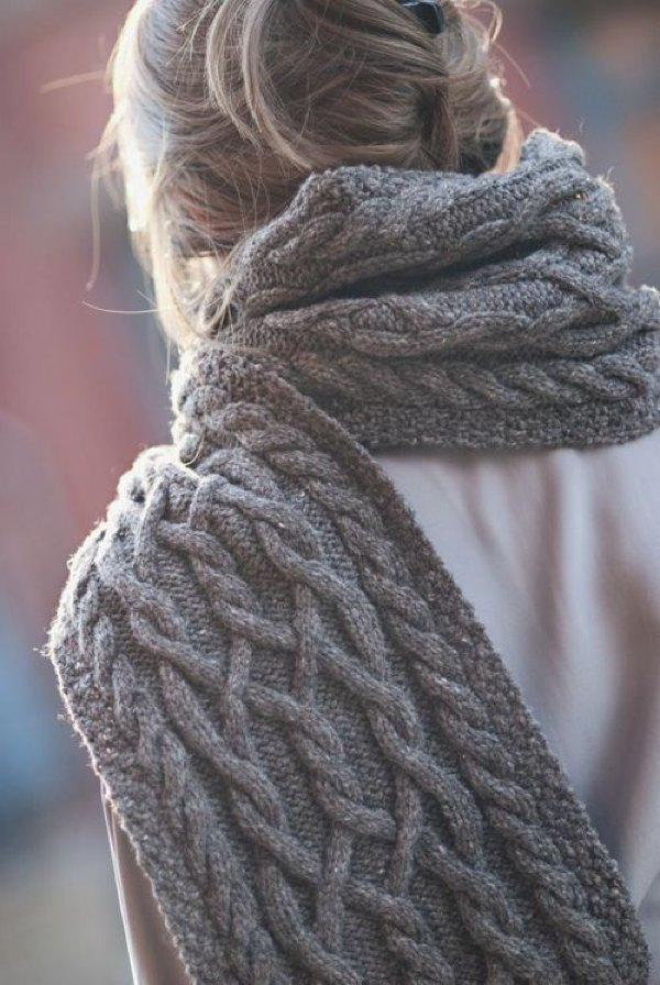Style Tips Trendy Ways To Wear Scarves In Winter Trendsurvivor