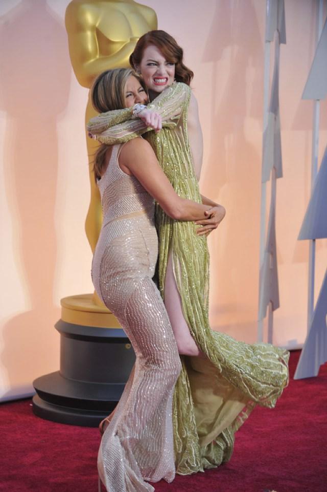 Emma-Stone-et-Jennifer-Aniston-