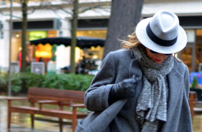 London Cold Winter Outfit Idea