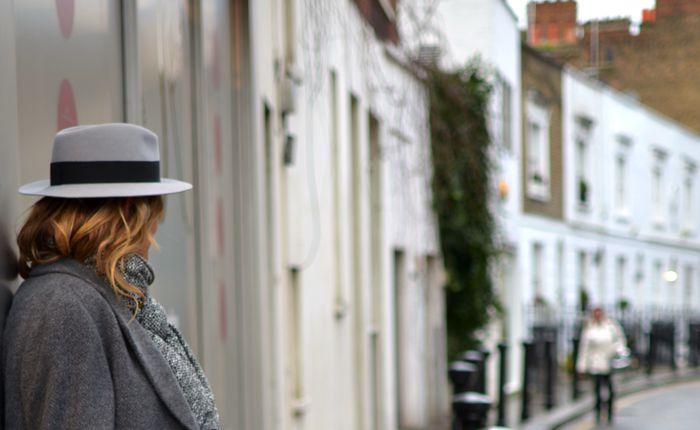 Andre Maison Michel grey hat