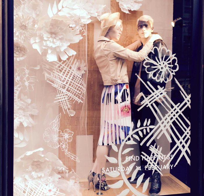 Harvey Nichols window SS2015