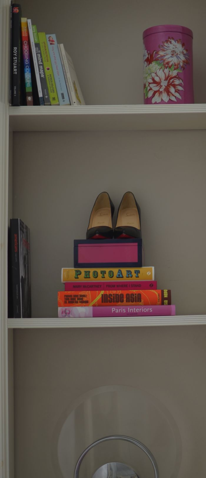 Christian Louboutin Pigalle pumps, books