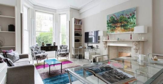 London Townhouse flat