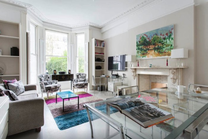 London Townhouse flat