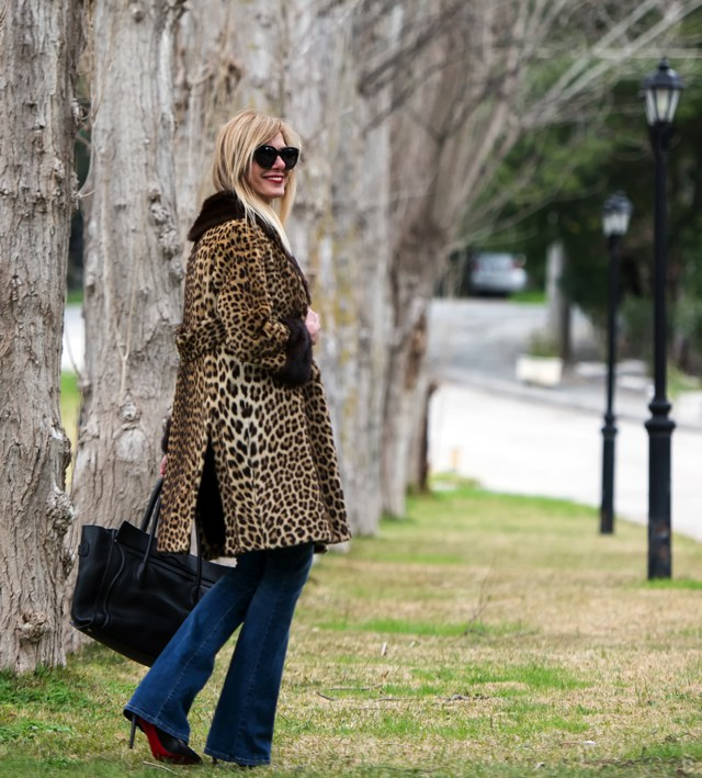 Street Style Leopard Coat 7os Style03