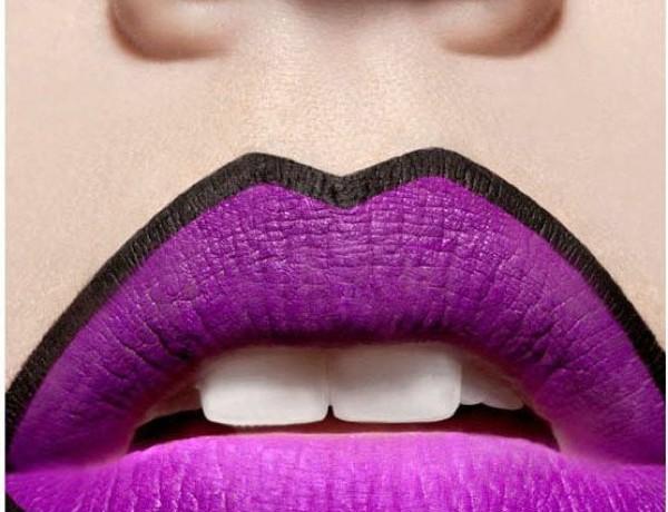 comics lips