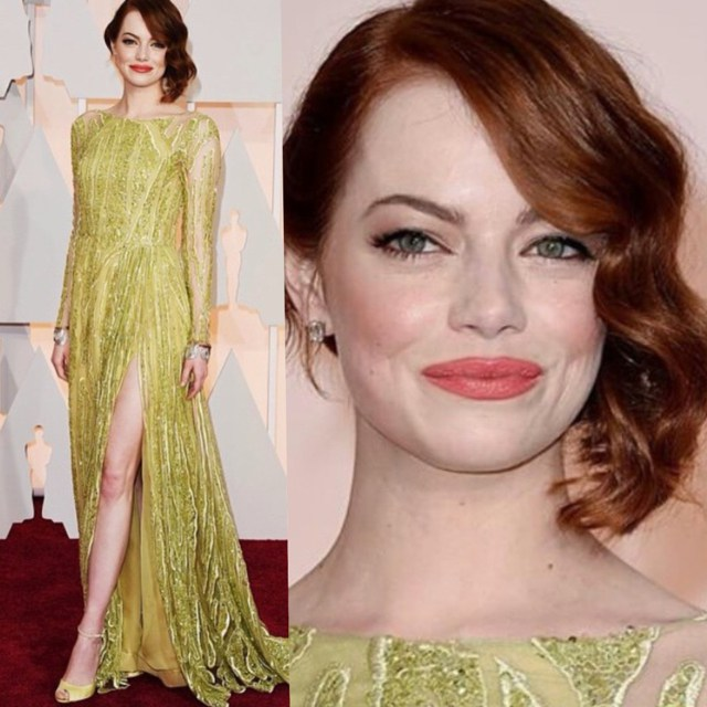 emma-stone-best-dressed-red-carpet-oscars-2015