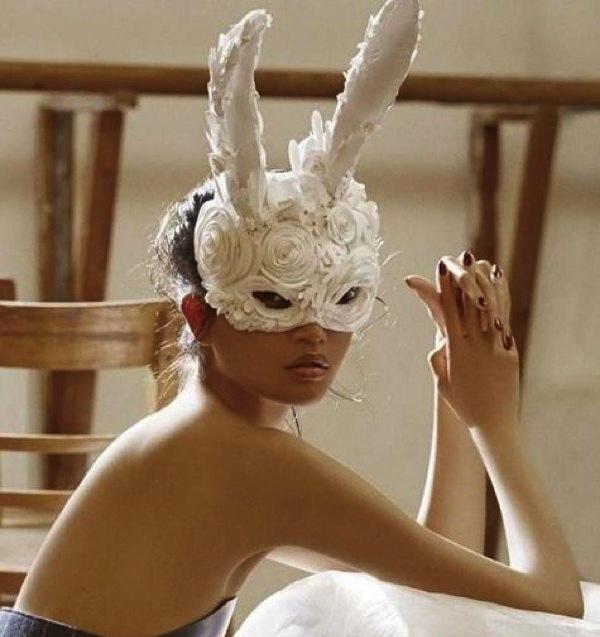 flower maske